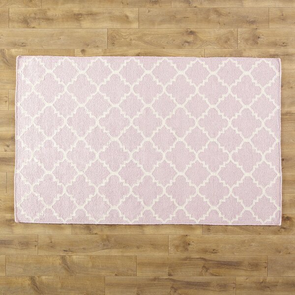 Pink/Ivory Area Rug by Birch Lane Kids™