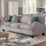 """Rosalie 93"""" Recessed Arm Sofa"""