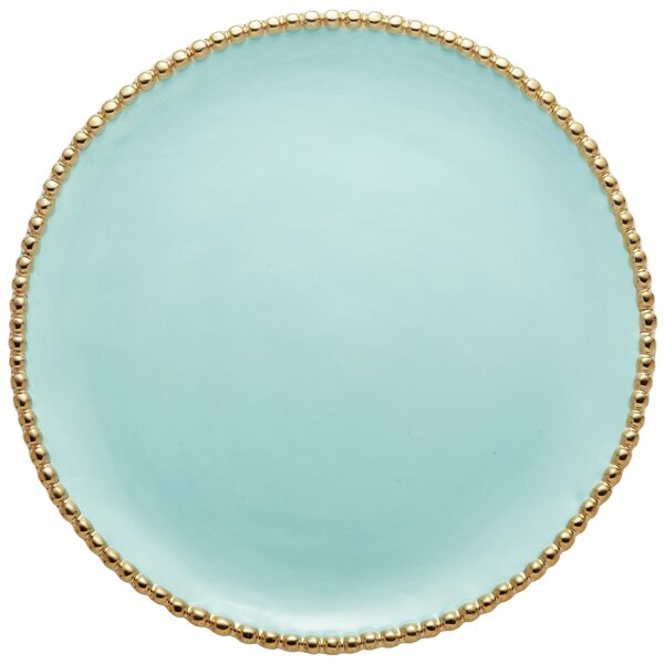 Studded Round Serving Platter by Magenta