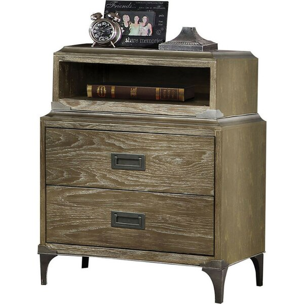 Woolf 3 Drawer Nightstand by Foundry Select