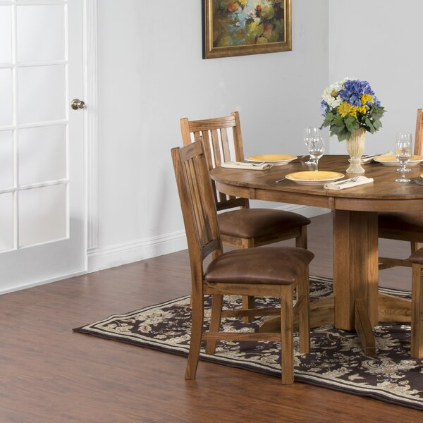 Fresno Extendable Dining Table By Loon Peak Top Reviews