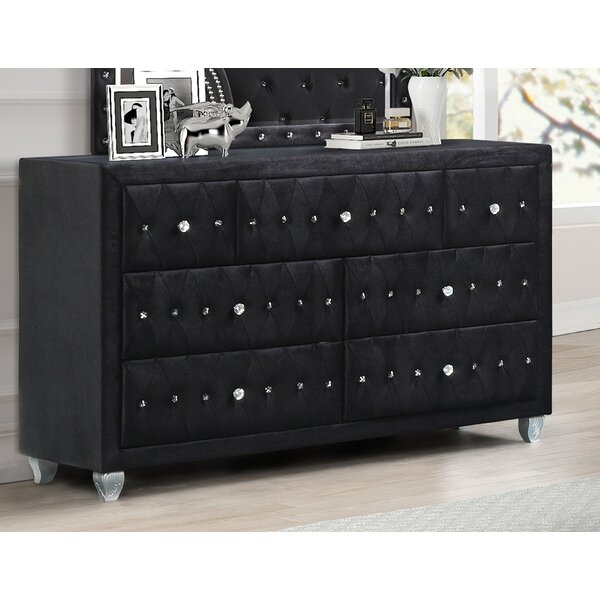Leatherhead 7 Drawer Dresser By Rosdorf Park by Rosdorf Park New