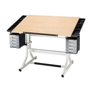 craftmaster ii wood drafting table - Drafting Tables