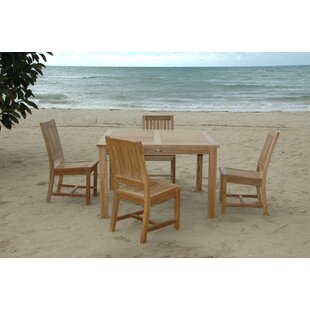 Windsor 5 Piece Teak Dining Set By Anderson Teak