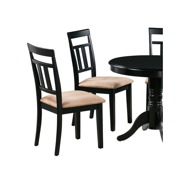 Aguiar Upholstered Dining Chair (Set of 2) by August Grove August Grove