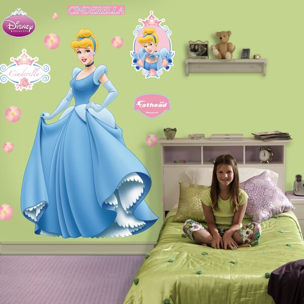 Disney Cinderella Wall Decal by Fathead