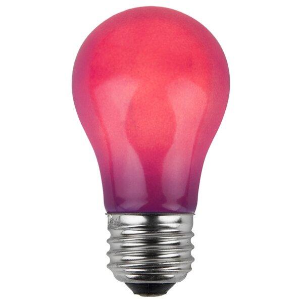 15W Purple 130-Volt Light Bulb (Pack of 25) by Wintergreen Lighting