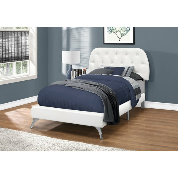 Kizer Upholstered Standard Bed by Ebern Designs