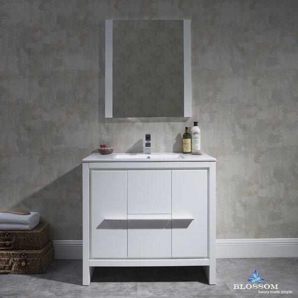Artemis Modern 35 Single Bathroom Vanity Set with Mirror by Ivy Bronx