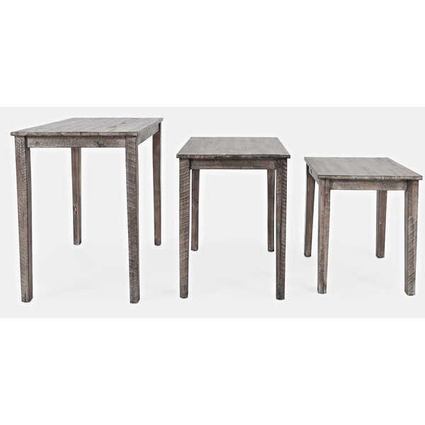 Damiano 3 Piece Nesting Tables By Gracie Oaks
