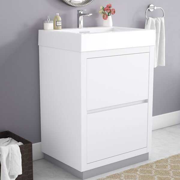 Tenafly 24 Single Bathroom Vanity Set by Wade LoganTenafly 24 Single Bathroom Vanity Set by Wade Logan