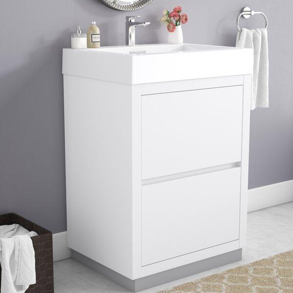 Tenafly 24 Single Bathroom Vanity Set by Wade Logan