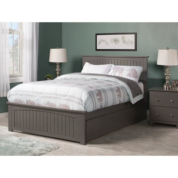 Benites Full Platform Bed with Trundle by Three Posts Teen