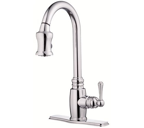 Opulence Pull Down Single Handle Kitchen Faucet by Danze®