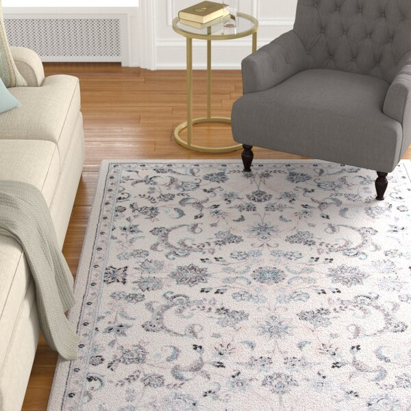 Kinsley Ivory Area Rug by Alcott Hill