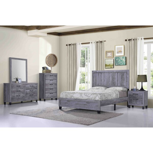 Myrie Standard 5 Piece Bedroom Set by Union Rustic