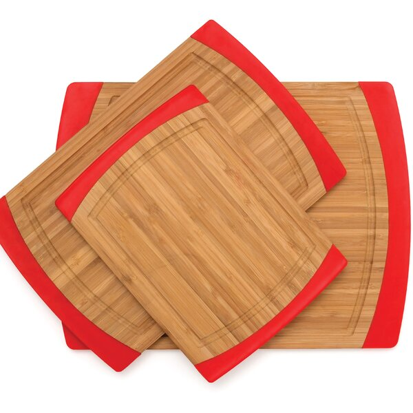 3 Piece Bamboo Cutting Board Set by Lipper International