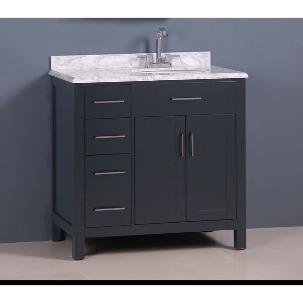 Prestwick Modern 36 Single Bathroom Vanity Set by Breakwater Bay