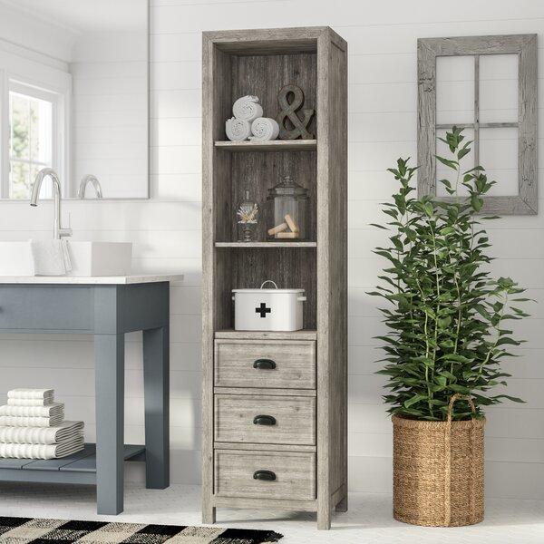 Wendell 19.5 W x 74.5 H Linen Cabinet