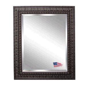 Astoria Grand Rectangle Wood Embellished Wall Mirror