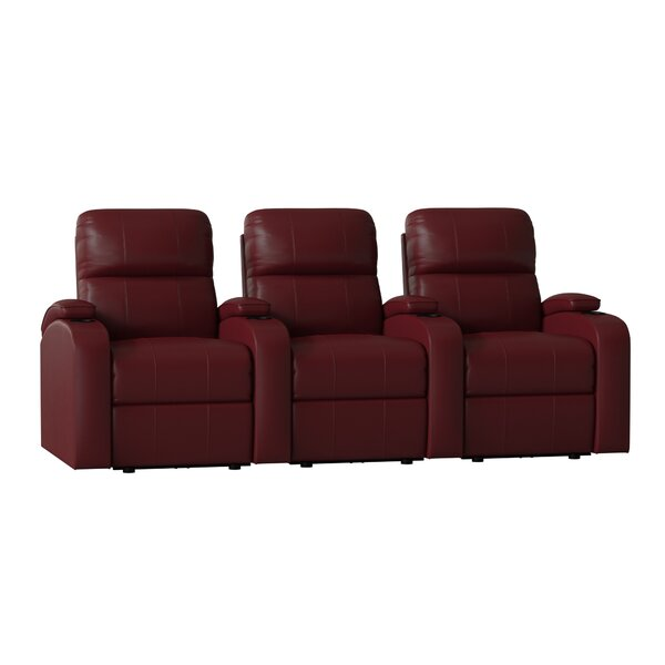 Home Theater Lounger (Row Of 3) By Winston Porter