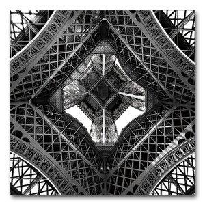 Under the Eiffel Photographic Print by Benjamin Parker Galleries