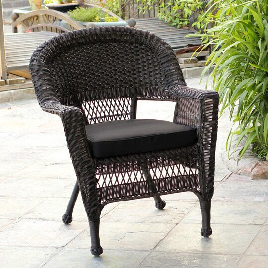 Navneet Lounge Patio Chair with Cushions by Birch Lane™ Heritage