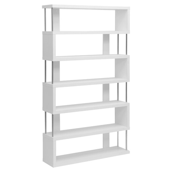 Spicer Accent Geometric Bookcase by Ebern Designs