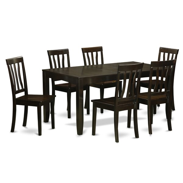 Lockmoor 7 Piece Dining Set by Red Barrel Studio Red Barrel Studio