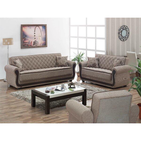 Battles Sleeper Configurable Living Room Set by Red Barrel Studio