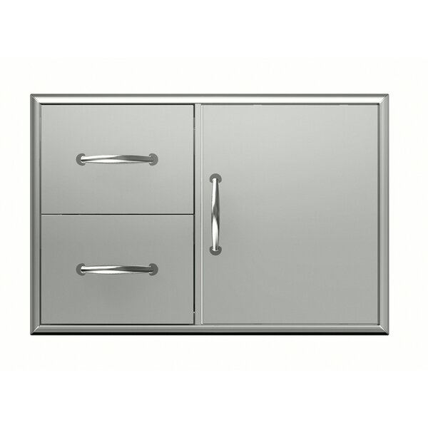 Premium Double Cabinet and Door by BroilChef