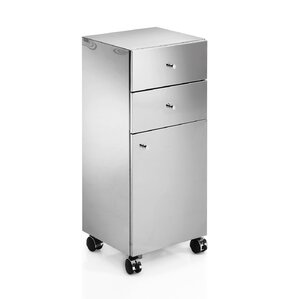 Stainless Steel Bathroom Cabinets & Shelving You\'ll Love | Wayfair