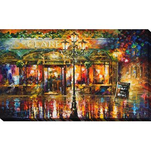 Clarens by Leonid Afremov Painting Print on Wrapped Canvas by Picture Perfect International