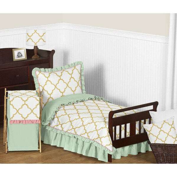 Ava 5 Piece Toddler Bedding Set by Sweet Jojo Designs