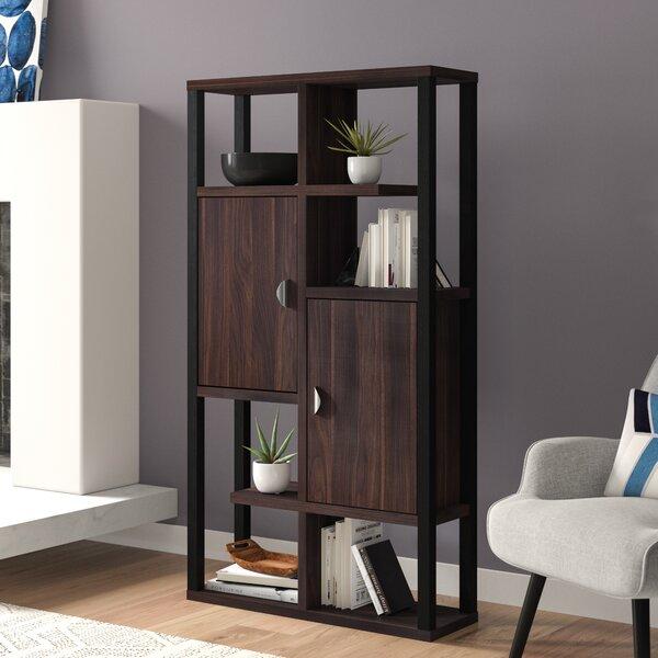 Parrish Geometric Bookcase By Brayden Studio