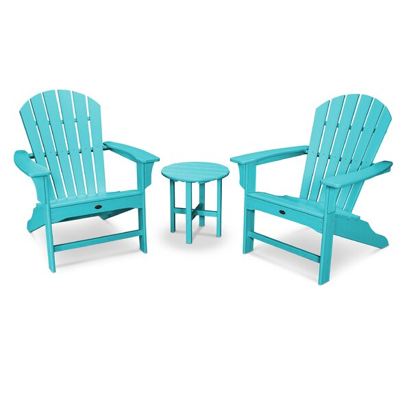Yacht Club Shellback Plastic Adirondack Chair by Trex Outdoor Trex Outdoor