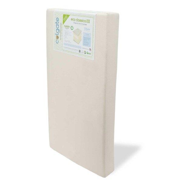 Eco Classica III Dual Firmness Foam Crib Mattress by Colgate
