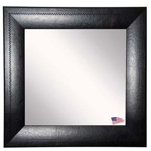 Hille Stitched Wall Mirror ByWinston Porter