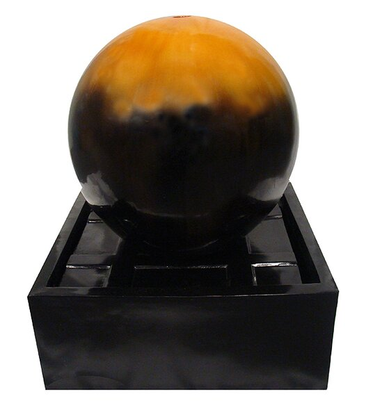 Resin Ball Outdoor Garden Water Fountain by LB International