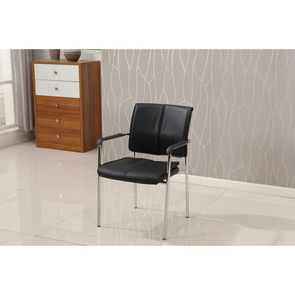 Pendley Stackable Conference Chair (Set of 2) by Latitude Run