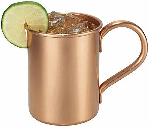 Classic 16 oz. Barrel Moscow Mule Mug (Set of 2) by Melange