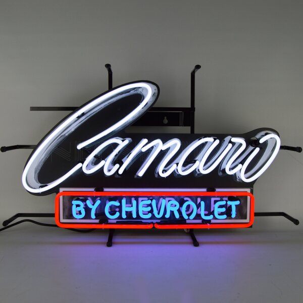 Camaro by Chevrolet Neon Sign by Neonetics