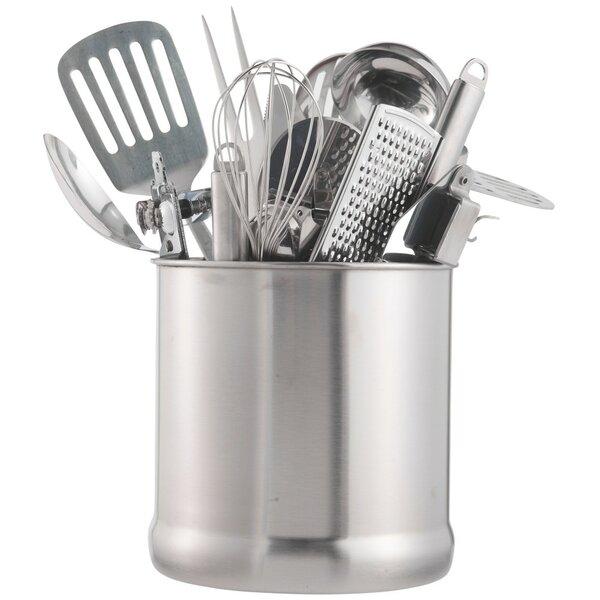 7 Stainless Steel Kitchen Utensil Holder by VonShef