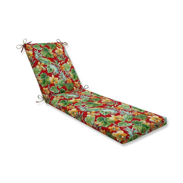Keziah Indoor/Outdoor Chaise Lounge Cushion