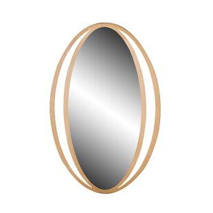 Wrought Studio Higuera Contemporary Iron Accent Mirror