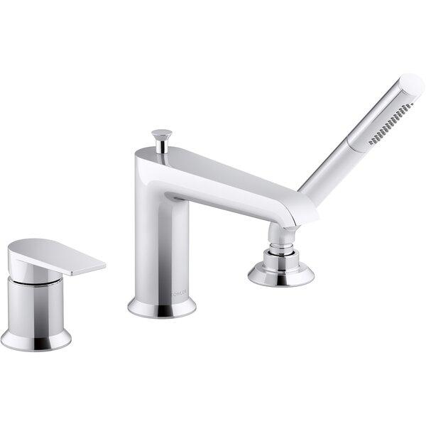 Hint Single Handle Deck Mounted Roman Tub Faucet Trim with Diverter by Kohler Kohler