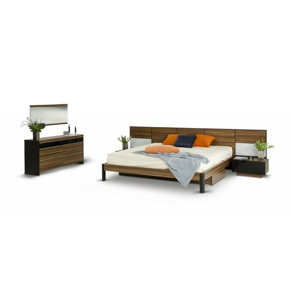 Carstarphen Modern California King Panel Configurable Bedroom Set by Brayden Studio