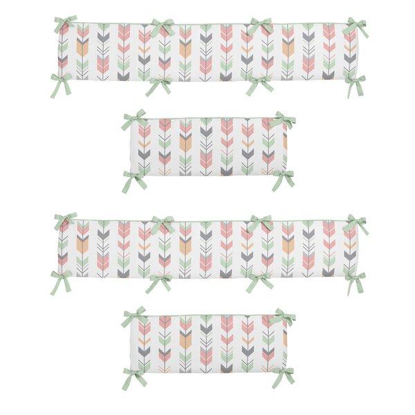 Mod Arrow Crib Bumper by Sweet Jojo Designs
