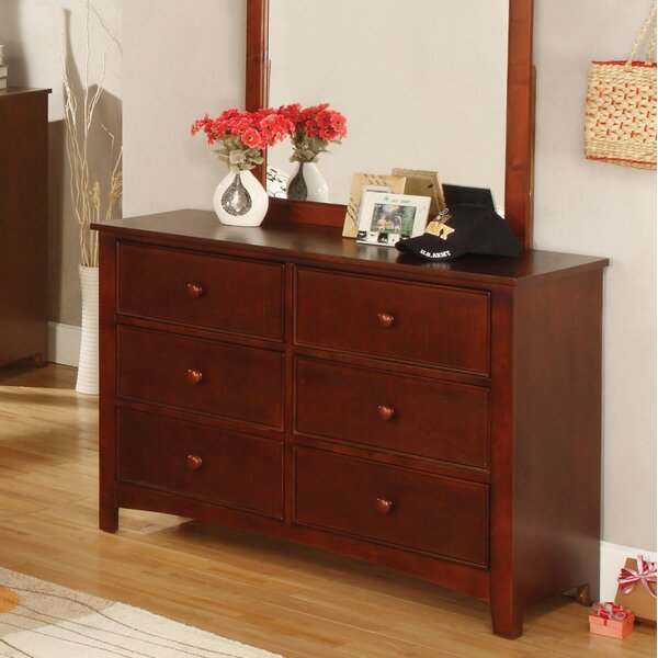 Bedford 6 Drawer Dresser by Hokku Designs