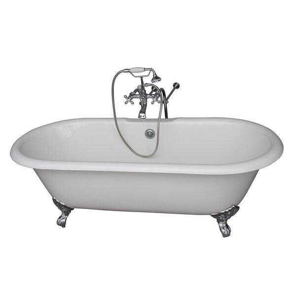 67 x 23.25 Soaking Bathtub Kit by Barclay